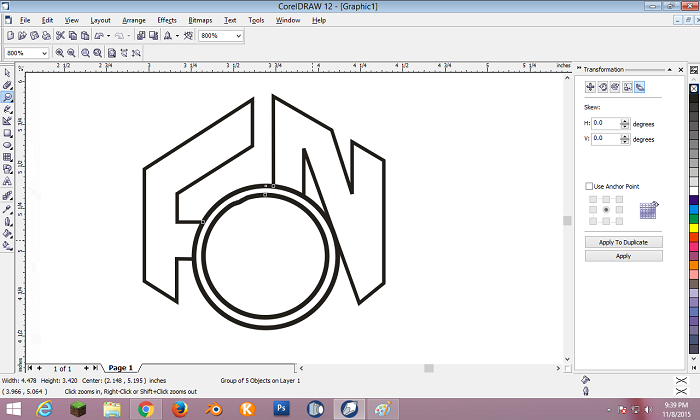CorelDRAW Kye Feature