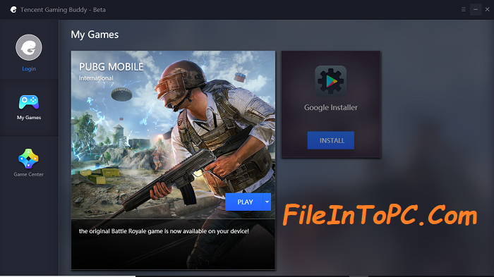 Tencent Gaming Buddy PUBG Mobile emulator for PC