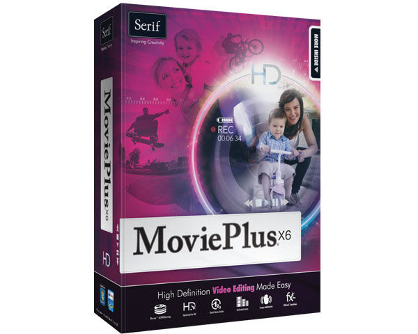 Serif MoviePlus X6 v8.0 Free Download With Crack